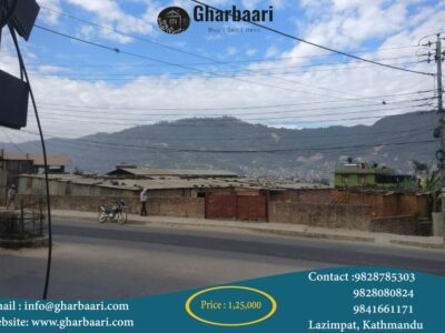 Gurjudhara commercial land on lease